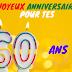 Textes anniversaire 60 ans