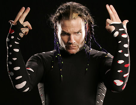 Necessary words... wrestler jeff hardy how that