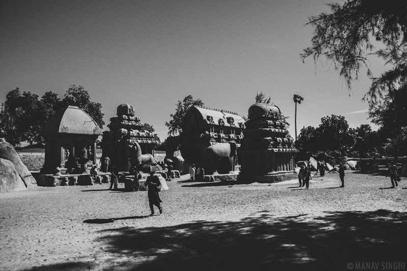 Pancha Rathas at Mahabalipuram - 1-Oct-2019