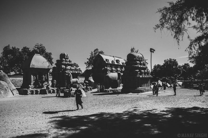 Pancha Rathas at Mahabalipuram - 1-Oct-2019