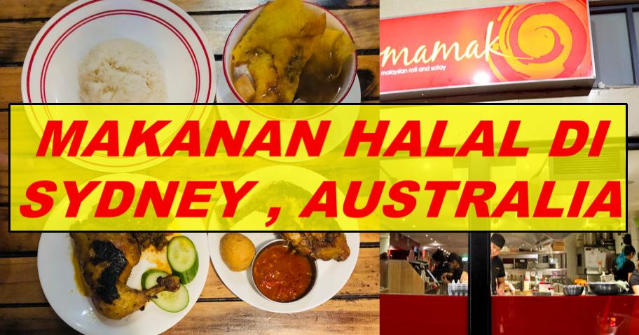 Makanan Halal Di Sydney, Australia