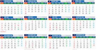 Kalender 2021 Beserta Tanggal Merah