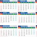 Download Template Kalender 2021 PNG JPG PSD PDF Lengkap Hijrah dan Libur Nasional Gratis