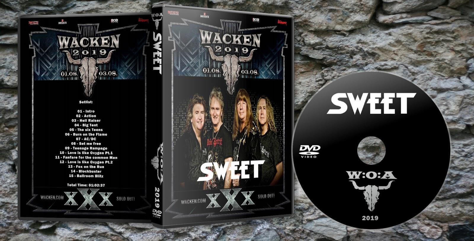 Deer5001RockCocert : The Sweet - 2019 - Wacken - HD-aud From