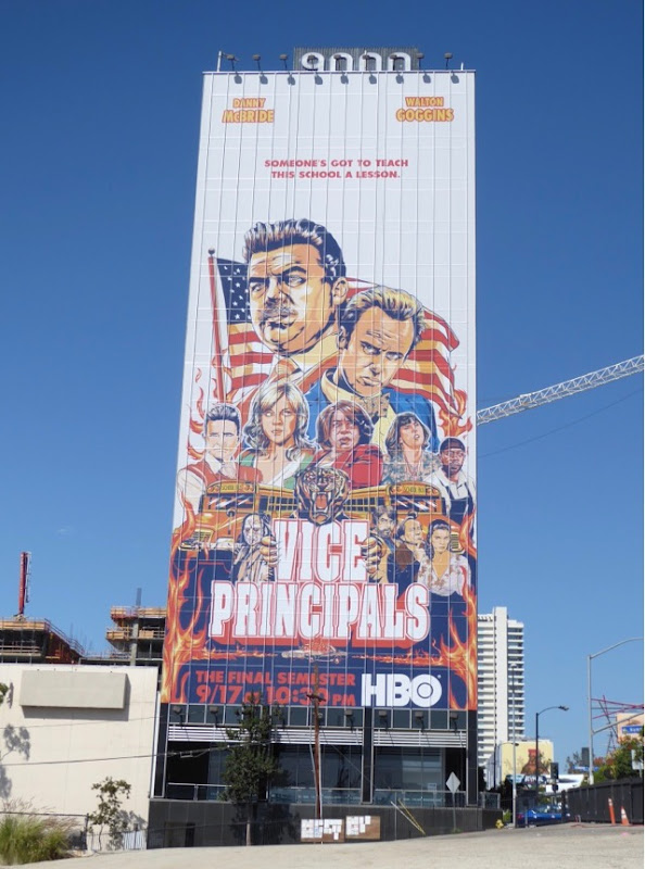 Giant Vice Principals Final Semester billboard
