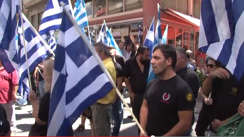Καστοριά: Τα εγκαίνια των γραφείων της Χρυσής Αυγή (βίντεο)