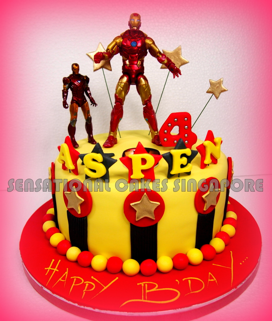 The Sensational Cakes Avengers Hero Cake Singapore