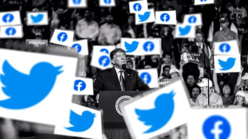 Facebook and Twitter are trying to curb false claims about the vote