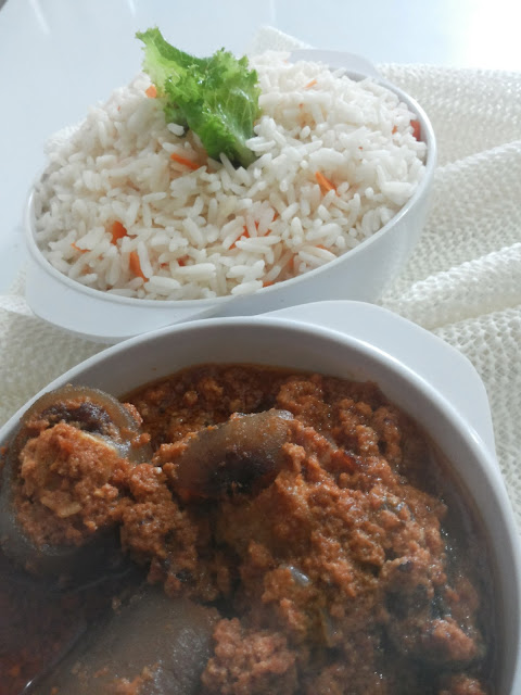 Nigerian stew by wives connection