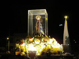 Paróquia de Almino Afonso recebe a imagem peregrina de Nossa Senhora Aparecida