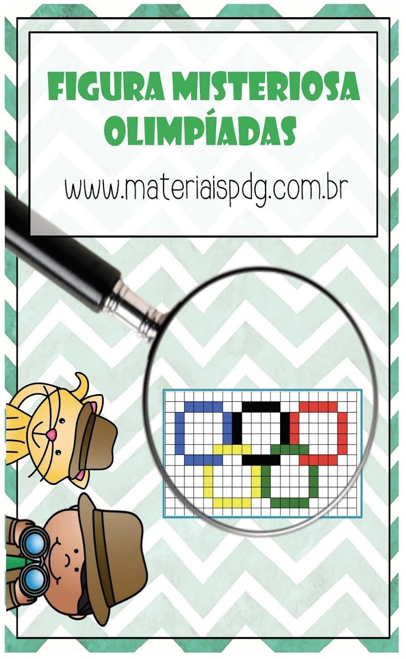 FIGURA MISTERIOSA OLIMPÍADAS - MATEMÁTICA