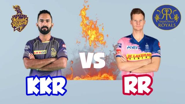 KKR VS RR Dream 11 Match 54 1 Nov 100% The Dream Team Winning Prediction IPL 2020