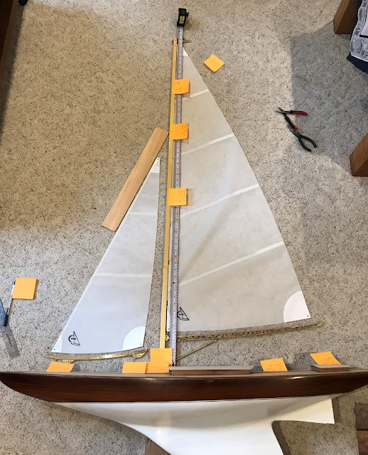 Wampum VM Vintage Marblehead RC Sailboat
