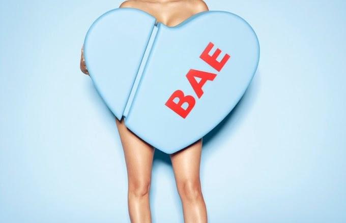 Kim Kardashian goes naked again For Bae Perfume!