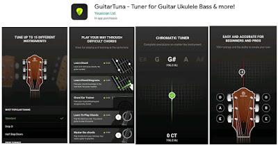 aplikasi stem senar gitar
