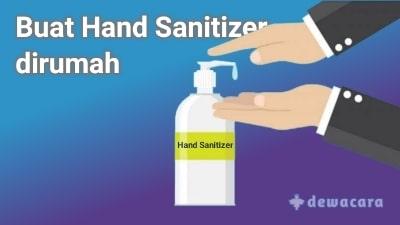 cara membuat hand sanitizer sendiri