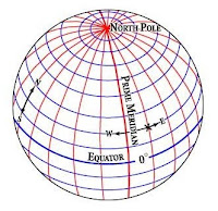 การหาตำแหน่ง Grid Location ของตำแหน่งต่างๆ บนโลก