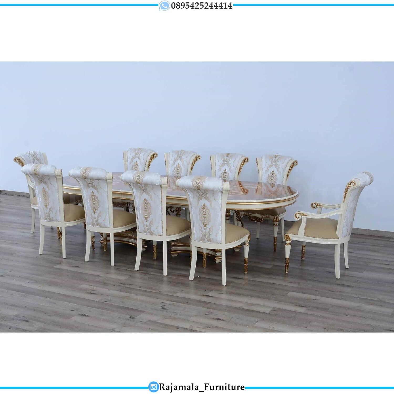Big Sale Meja Makan Mewah Ukir Jepara Luxury Design Classic Elegant RM-0466