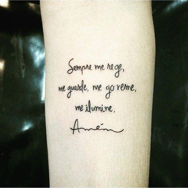 Tattoo Frases De Deus No Braco Kidnaplack