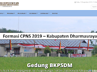 Formasi CPNS 2019 Kabupaten Dharmasraya