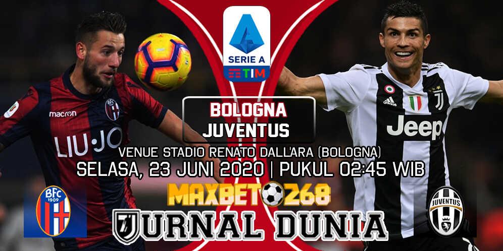 Prediksi Bologna vs Juventus 23 Juni 2020 Pukul 02:45 WIB