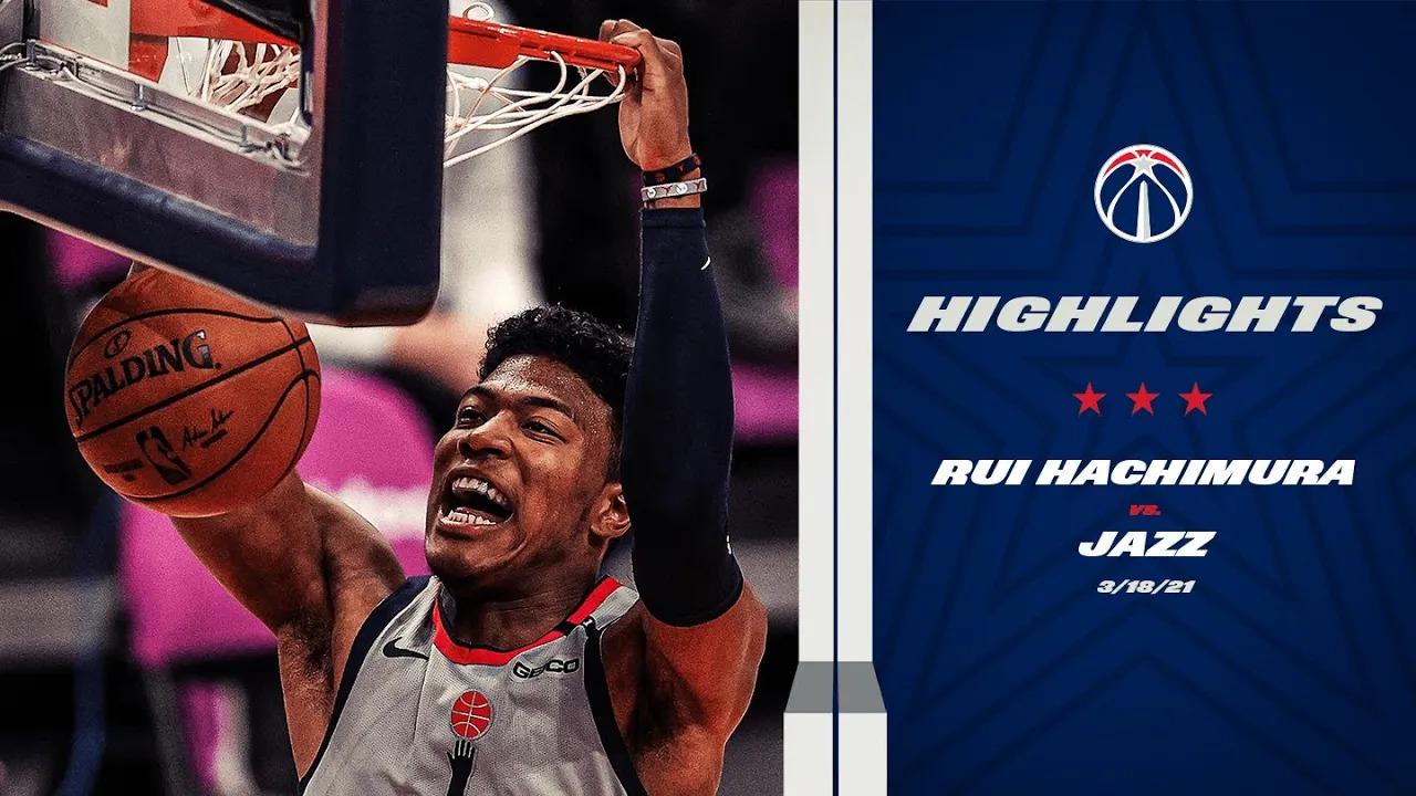 Rui Hachimura 12pts 7ast vs UTA | March 18, 2021 | 2020-21 NBA Season