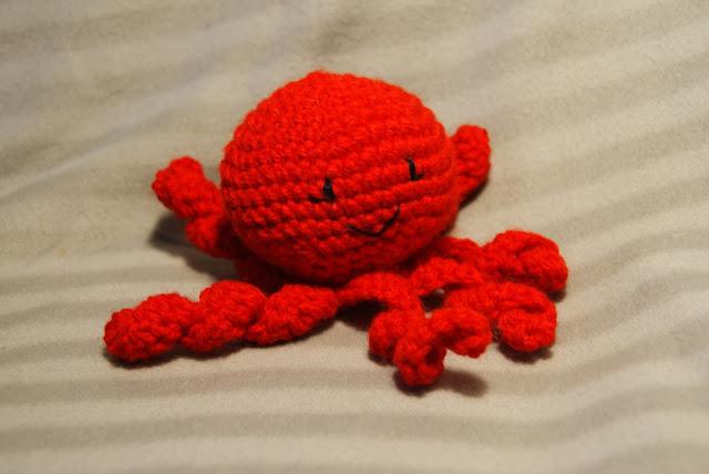 czerwona ośmiorniczka