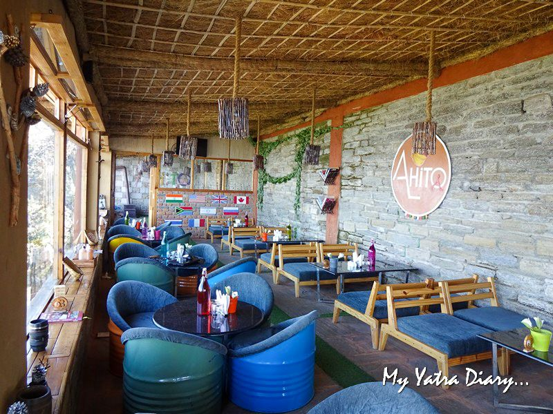 Alhito Cafe - one of the best cafes in Kasar Devi Uttarakhand