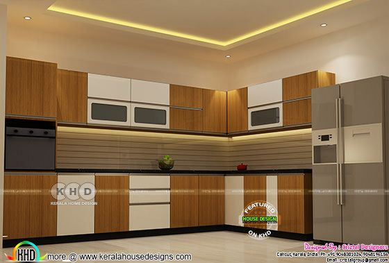Kitchen interior design in Kerala