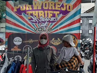 Komunitas Second Branded Menggelar Event Purworejo Thrift Market Ke 2