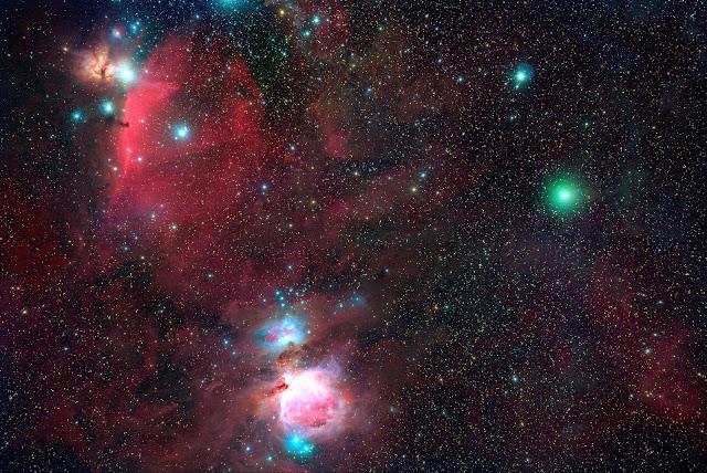 cometa atlas c/2020 M3 - por michael Jagger