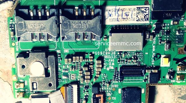 Kode dan Tata Letak Pemasangan ic Power ADvan I5C+Kode ic eMMC