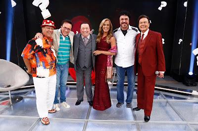 Genival, Moacyr, Raul, Helô, Luis Ayrão e Agnaldo (Crédito: Rodrigo Belentani/SBT)