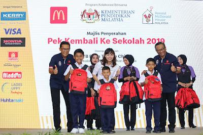 Pek Kembali ke Sekolah 2019 dengan McDonalds Malaysia