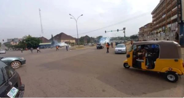[BREAKING] In June 12th, protesters descended on Osogbo and Akure.  https://www.anything-celebrity.com/2021/06/breaking-protesters-descended-in-osogbo.html