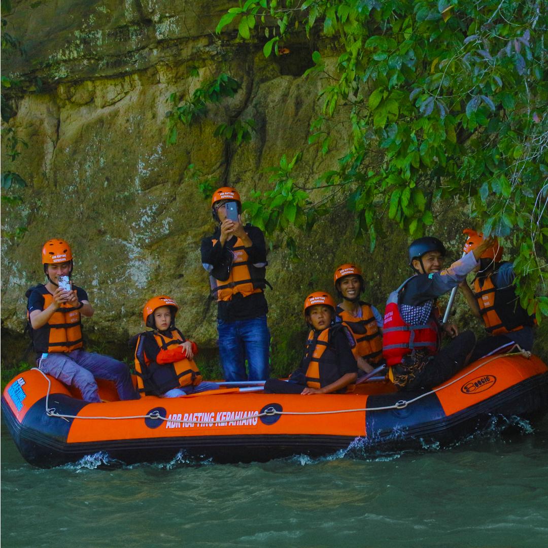 Rafting di Kepahiang