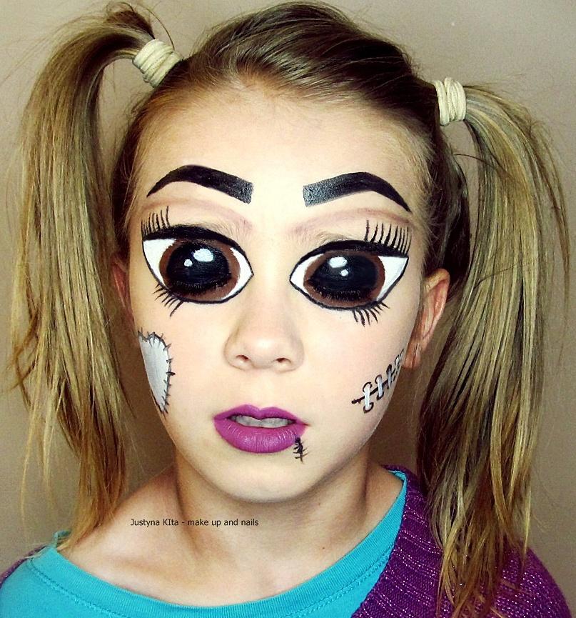 Porcelain Girl Propozycje Makijażu Na Halloween