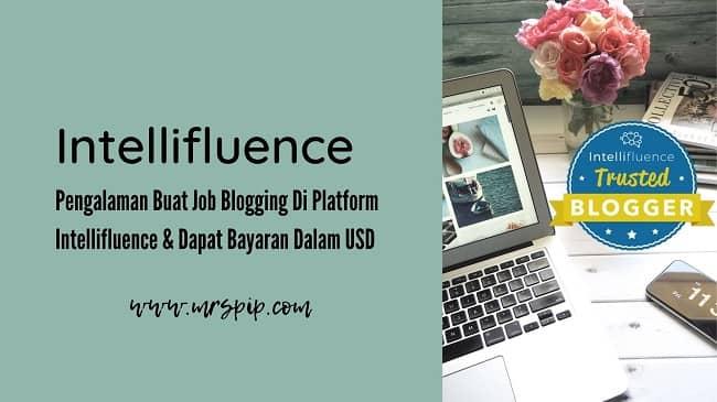 Intellifluence Jana Income Untuk Blogger Bayaran USD