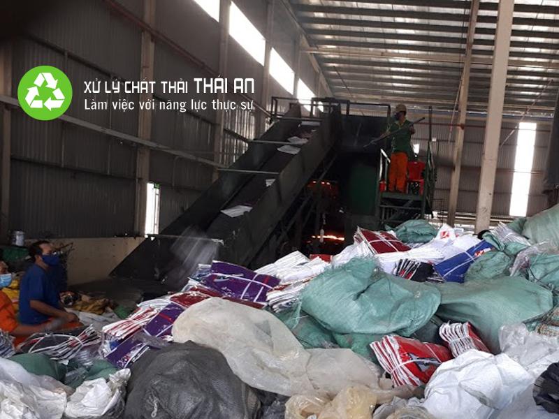 Dịch vụ đốt rác thải Thái An