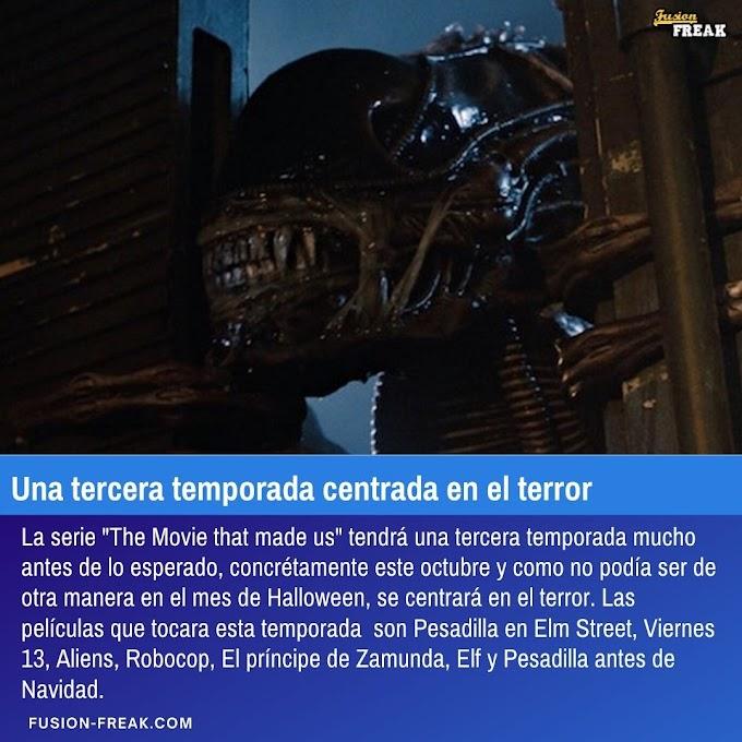 La tercera temporada de The Movie that made us  estará centrada en el terror.