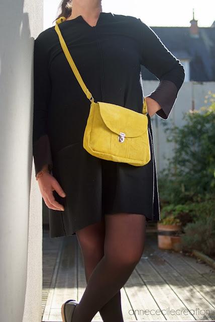 sac à main jaune
