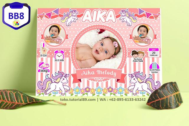 Biodata Bayi Costume Baby Girl Kode BB8   Kuda Poni