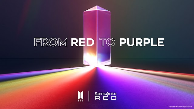 """WHEN RED MEETS PURPLE: SAMSONITE RED LAUNCHES """"BTS X SAMSONITE RED"""" COLLECTION"""