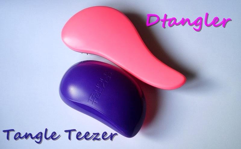 Tangle Teezer i jej podróbka - porównanie szczotek