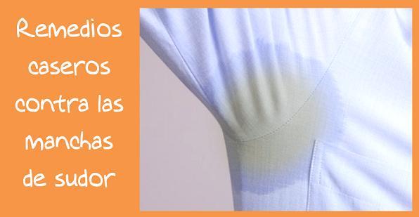 Remedios caseros contra las manchas de sudor