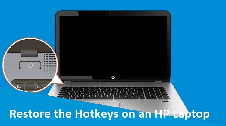 Steps to Restore the Hotkeys on an HP Laptop