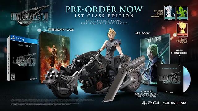 الكشف عن العرض المطول لطريقة اللعب داخل Final Fantasy VII Remake و مشاهد مليئة بالاكشن