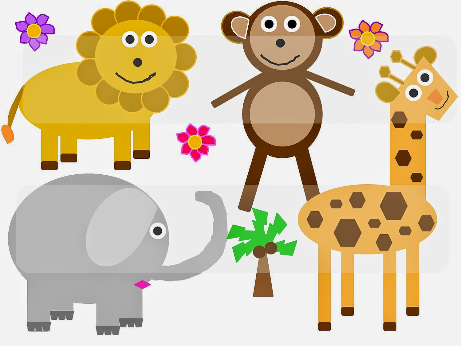 Cute Baby Animals Clip Art