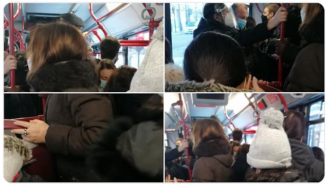Appunti sugli assembramenti sui bus
