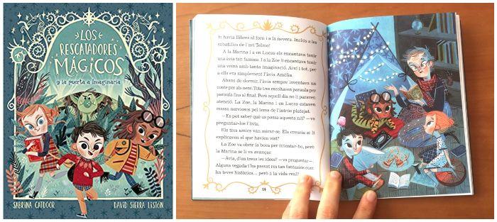 cuento infantil 5 a 8 años regalar Navidades Los rescatadores mágicos